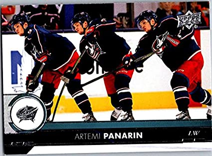 ada480b6825 2017-18 Upper Deck Series 2  302 Artemi Panarin Columbus Blue Jackets Hockey  Card