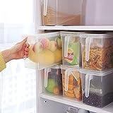 mini fridge wood cover - Gotian Kitchen Food Container Refrigerator Storage Box Collecting Basket Fruit Food Organiser Utility