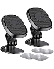 FLOVEME Magnetic Cell Phone Holder for Car Hands Free Phone Mount Compatible with iPhone 12 11 Pro Max XR XS 8 7 Plus Samsung Galaxy S10 S9 S8 Car Dashboard Magnet Phone Holder