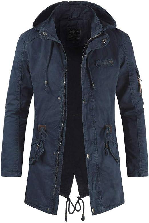 Pandaie Mens Softshell Jacket Hooded Winter Warm Quilted Down Jacket Windbreaker Coat Windproof and Waterproof