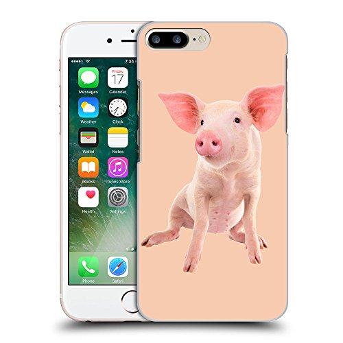 GoGoMobile Coque de Protection TPU Silicone Case pour // Q05580604 Porc bébé Albicocca // Apple iPhone 7 PLUS