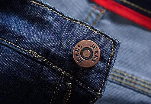 Elastici Da Cotone Denim Adelina Gamba A Abbigliamento In Confortevoli Pantaloni Ufige Larghi E Dritta Uomo Cw15qT