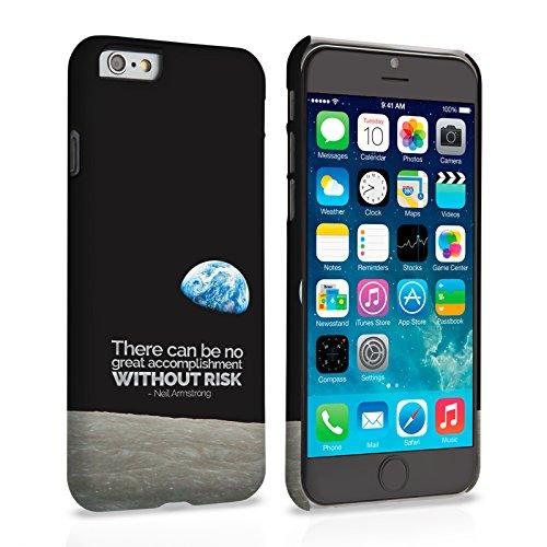 Caseflex iPhone 6 Plus / 6S Plus Hülle Neil Armstrong Zitat Hart Schutzhülle (Kompatibel Mit iPhone 6 Plus / 6S Plus - 5.5 Zoll)