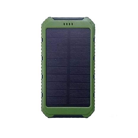 WYX Cargador Solar 20000mAh portátil móvil batería Cargador ...