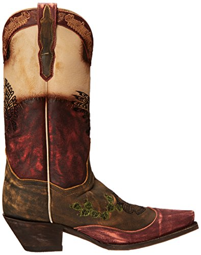 Carlita Tan Boot Post Multi Western Women's Dan Ew6gxqRvxn