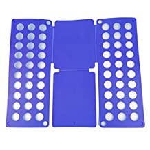 SHAREWIN Adjustable Laundry Clothes Folder Folding Board T-Shirts Adult Dress Pants Towels Organizer,Fast Easy and Save Time