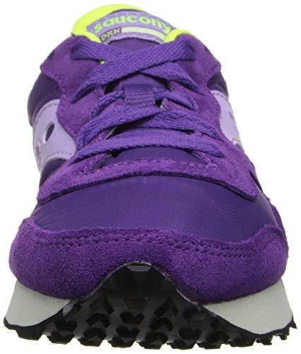 Originali Di Saucony Da Donna Dxn Trainer Fashion Sneaker Viola