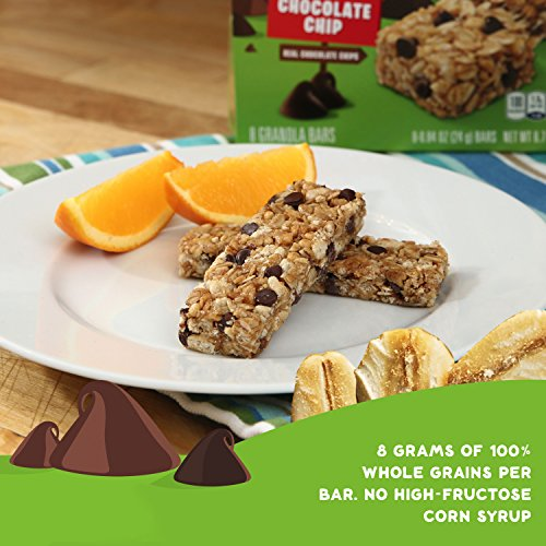 030000311820 - Quaker Chocolate Chip Bars - 0.84 oz - 8 Count carousel main 17