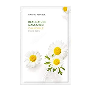 [New] Nature Republic Real Nature Mask Sheet_10Sheet (#Chamomile)