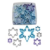R&M International 1894 Snowflake Cookie Cutters, Assorted Sizes, 7-Piece Set