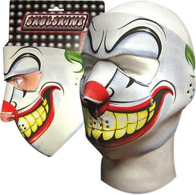 SkulSkinz Clown Face Mask