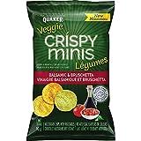 Quaker Crispy Minis Veggie Balsamic & Bruschetta Multigrain Chips, 90 Grams