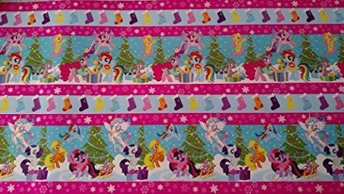 My Little Pony Wrapping Paper Christmas Gift Wrap Wrapping Paper (1 Roll, 40 -
