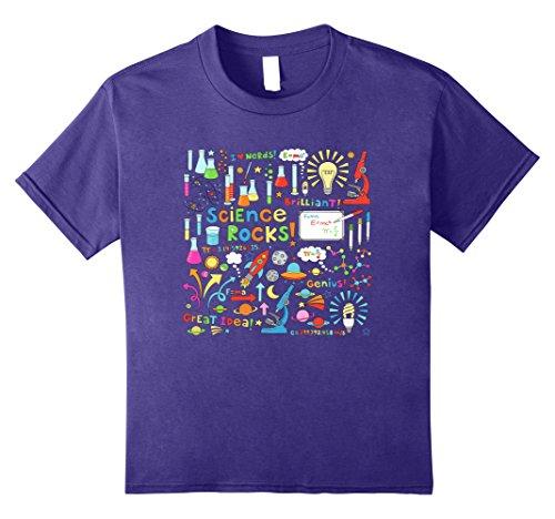 Kids Science Rocks T-Shirt 10 (Science Rocks T-shirt)