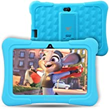 Dragon Touch Y88X Plus 7 inch Kids Tablet 2017 Version, Kidoz Pre-Installed with All-New Disney Content (more than $80 Value) - Blue