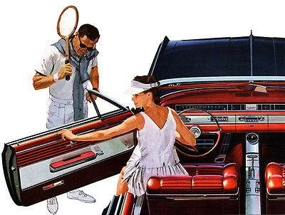 1964 Oldsmobile Starfire Convertible - Promotional Advertising Poster