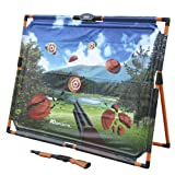Fun Exciting Easy Care And Store MD Sports Glow-in-the-Dark Infrared Skeet Shooting Game With Integrated Light And Sound Effects For A More Enhanced Game Experience Play Solo Or With Friends!