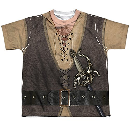 The Princess Bride Montoya Costume (Front Back Print) Big Boys Shirt SM