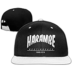 Aonliver Harambe 1999-2016 Hip Pop Baseball Caps Hats