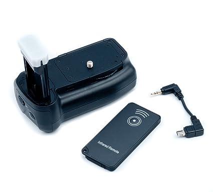 QUMOX Batería Grips para Nikon D5100 D3100 cámara réflex digital ...
