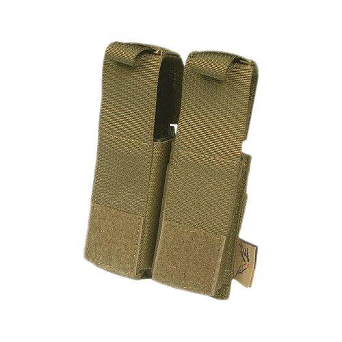 Flyye Doppel .45 Pistole Magazintasche MOLLE Coyote Braun
