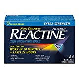 Reactine Tablets Extra Strength 10 mg, 84 Count