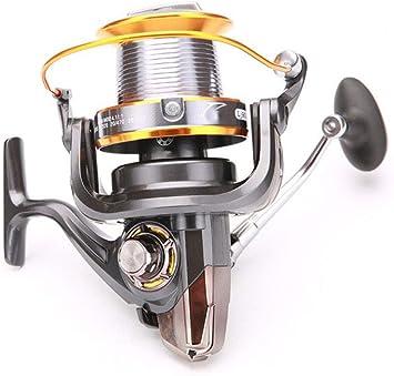 YONII Carrete de Pesca Spinning 12 + 1BB 13 rodamientos de Bolas ...