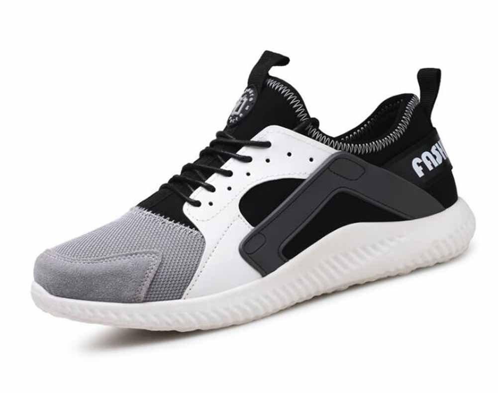 Hombres Los Zapatos Ocasionales Respirables 2017 Otoño Nueva Manera De Las Zapatillas De Deporte Zapatos De Senderismo ( Color : White , Size : 42 ) 42 White