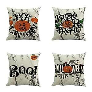 Amazon.com: Staron 4 paquetes de fundas de almohada para ...