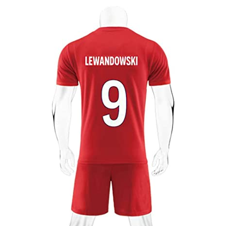 super popular b50ab 1336c Amazon.com : ZAIYI-Jersey Soccer T-Shirt-Robert Lewandowski ...