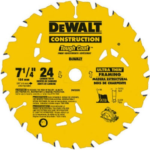 7-1/4 24T Bulk 10-Pack Precision Framing Saw Blade