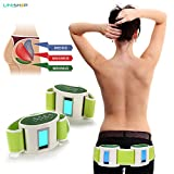 LifeShop Infrared EMR Vibration Muscle Flex Technology Toning and Slimming Belt Kit - Relaxing Butt Toning and Firming Therapy for Women and Men - Works for Abdominal Muscles, Waist, Arms and Legs