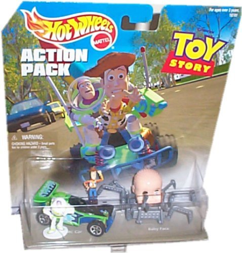 Hot Wheels Action Pack TOY STORY with RC CAR, BABY FACE, BUZZ & WOODY from Hot Wheels