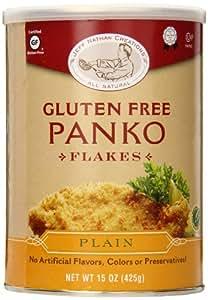 Jeff Nathan Creations Chef Gourmet Panko Plain Gluten Free, 15 Ounce