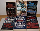 Patriot Games, The Teeth of the Tiger, Ghost Recon, The Cardinal of the Kremlin, State of Siege & ruthless.com by Tom Clancy (6 Books)