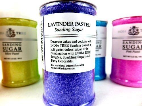 India Tree Pastel Sanding Sugars 6-Color Set: One 3.5 oz Bottle Each ...