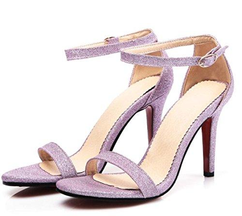 été do 4 chaussures talon 2 chaussures XDGG taille simples femmes taille return rose ouverts chaussures printemps hauts talons mariée à not petite custom days gold et de grande taille talons 32 qFXwznFUf