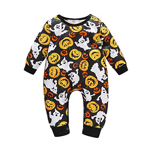 Buy Cosplay Outfits (Aunimeifly Halloween Newborn Cosplay Costume Infant Pumpkin Romper Baby Outfits Boy Girl)