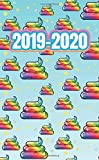 2019-2020: Two Year Monthly Pocket Size Planner Notebook V2