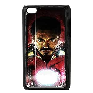 C-EUR Customized Phone Case Of Iron Man For Ipod Touch 4