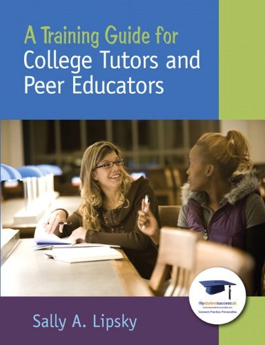A Training Guide for College Tutors and Peer Educators by Lipsky Sally A. (2010-01-13) Paperback