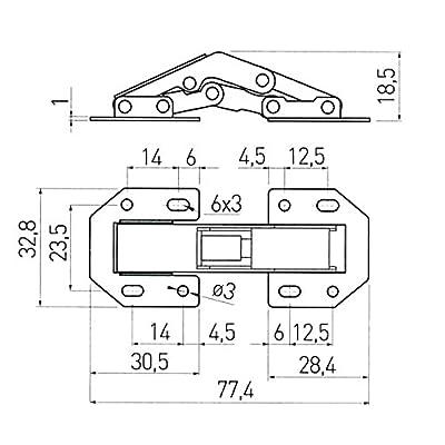 10-x-SO-TECH-Aufschraubscharniere-774-x-328-mm-Aufschraubscharnier-Trscharnier-mit-Feder-Aufschraubscharnier