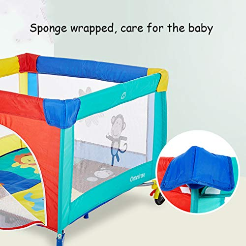 Playpen Play Yard Tent Portable & Travel Kids Ball Pit Playpen Ball Pool,Indoor and Outdoor Easy Folding Play House Play Space for Children Baby (Excluding The Ball) by CGF- Baby Playpen (Image #1)