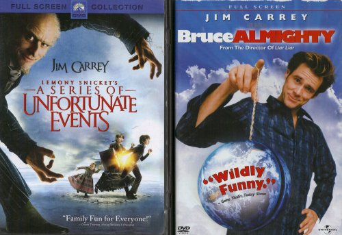 Bruce Almighty , Lemony Snicket's a Series of Unfortunate Events : Jim Carrey 2 Pack Collection