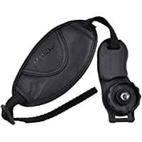 Micnova MQ-HS7 Leather Grip Strap for Canon EOS, Nikon, Sony Alpha, Pentax, Olympus, Panasonic DSLR Cameras