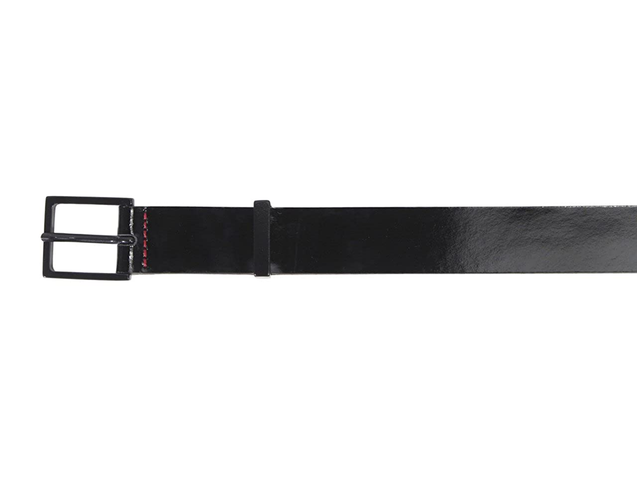 Hugo Boss Mens Gis Genuine Patent Leather Belt