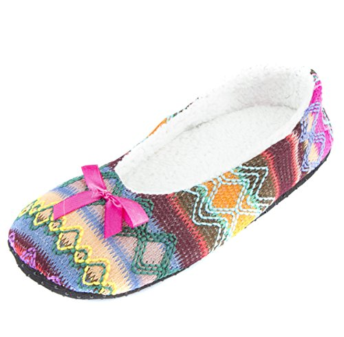 Pink Fashion Slippers Women's Cozy Leisureland 4nwUx574I