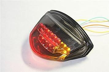 Brake Tail Light LED Smoke with Integrated Turn Signal Suzuki 2007-2008 GSXR1000