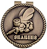 US Navy Seabees Money Clip Military Money Clips Men Gifts Veterans Collectibles