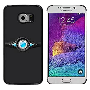 Caucho caso de Shell duro de la cubierta de accesorios de protección BY RAYDREAMMM - Samsung Galaxy S6 EDGE SM-G925 - Abstract Design